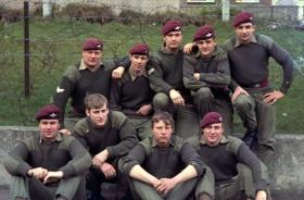 Members of B Company 3 PARA, Belfast, date unknown.