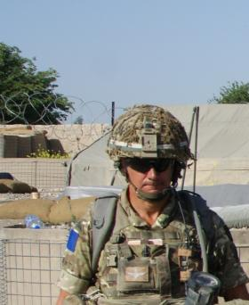 Chris Willmott, D Company, 2 Para, Patrol Base 1, NES (S) 2011