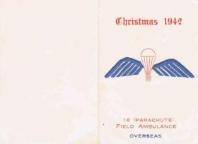 16 PFA Christmas Card, 1942