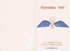 16 PFA Christmas Card, 1942