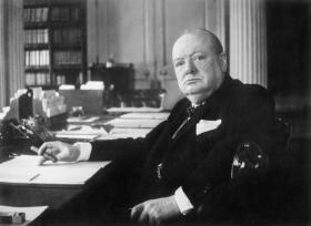 Winston Churchill as Prime Minister 1940-45.