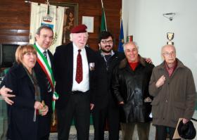 Maj Hargreaves MC, Casoli, Italy, 2013.