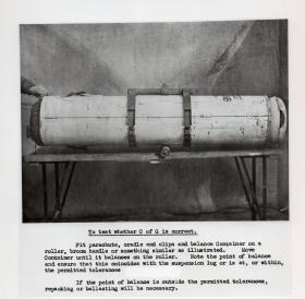 To test the centre of gravity on a CLE MkIII