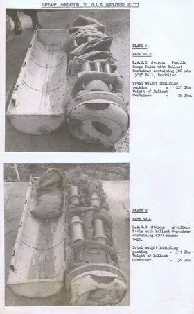 Ballast container in CLE MkIII, plates 1 and 2.