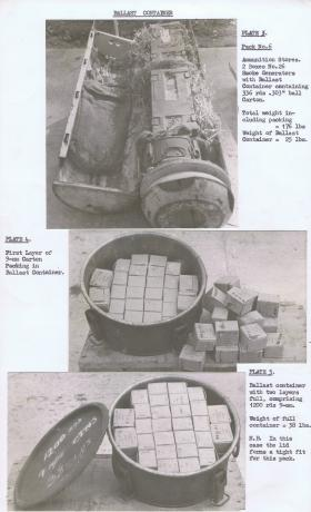Ballast container in CLE MkIII, plates 3-5.