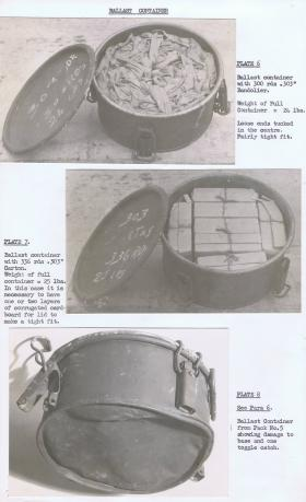 Ballast container in CLE MkIII, plates 6-8.