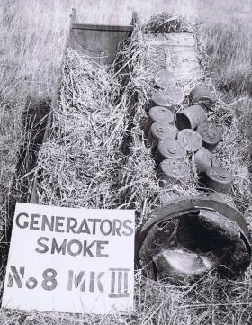 CLE Mk1 containing smoke generators, c1943.
