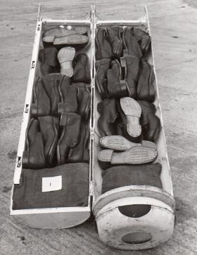 CLE containing boots, c1944.