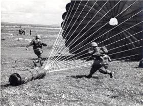 A CLE being recovered by Polish paratroopers, c1944.