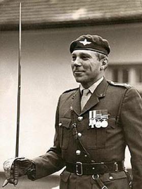 Colonel Peter Field MC, c1980s.