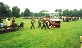 Presentation of Colours to 4 PARA, Hardwick Hall, 30 July 2004.