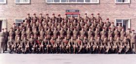 No 1 (Guards) Independent Parachute Company, Combermere Barracks Windsor, 1966.