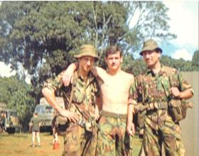 Members of 2 PARA, Kenya, 1981