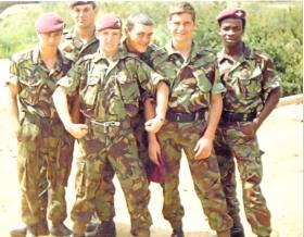 Members of 2 PARA, Kenya, 1981