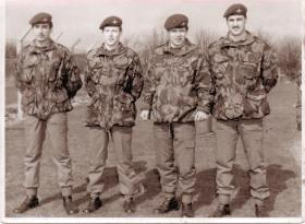 The Dey and Kempster brothers, RAF Brize Norton, 1980