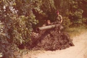 Members of 1 PARA Anti-Tank Platoon, Grunewald Forest Berlin, 1975