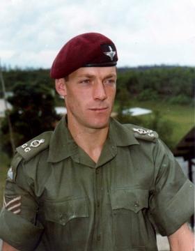Sgt Coote, Malaya, 1968.