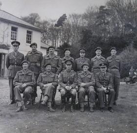 King George VI's visit, Bulford, April 1943