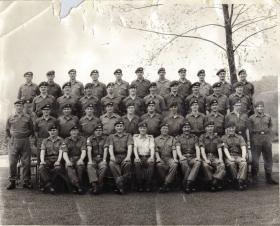 Corporals Course Brecon Battle School late 1960s