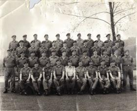 Corporals Course Brecon Battle School late 1960s