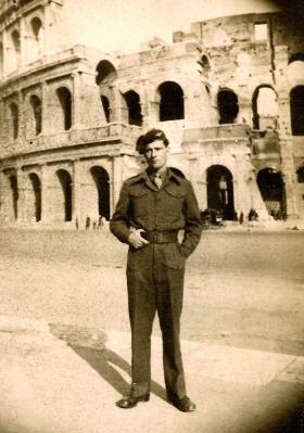 Private Coughlin,  6th Para Bn, Rome 1944.