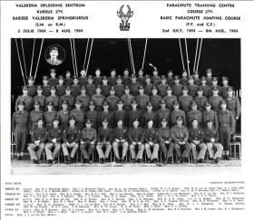 South African Basic Parachute Course 27V 1964
