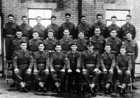 P Company 415 platoon, February 1956.