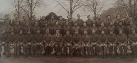 Course photograph including airborne personnel
