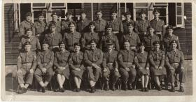 Course Photograph including Sgt John Brown