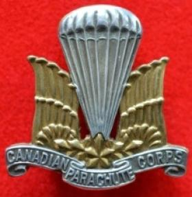 1 Canadian Parachute Battalion Officers' Hat Badge