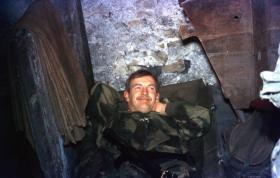 Cpl Dave Ramsay, 1 Para Provost Pln RMP (V), Germany, 1970s.