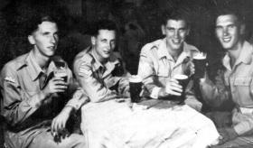 Members of 7th (Light Infantry) Parachute Battalion, Palestine.