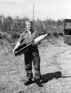 L/Cpl Des Read, Vigilant Platoon 1977