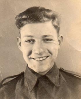 Corporal Reginald McCord, c1944.