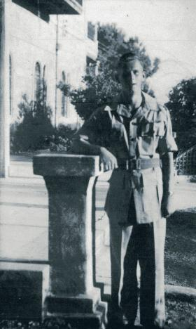 Cpl T Huntbach, Ramallah, 1946