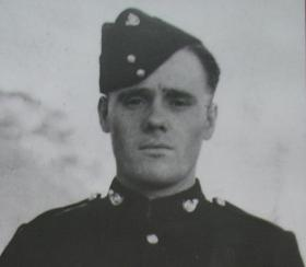 Cpl Waters as a young man serving in the KOYLI, India c1937.