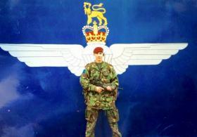 Cpl Pete Gurney, 2 PARA, Crossmaglen, 2003.