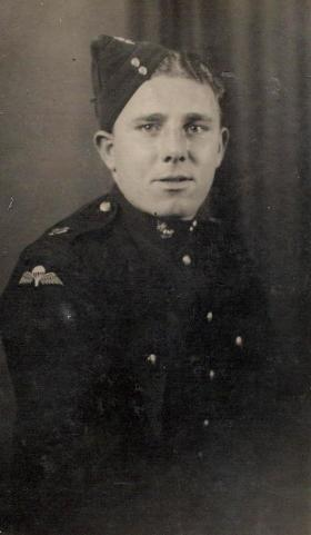 Sapper 'Curly' Plummer, c1943.
