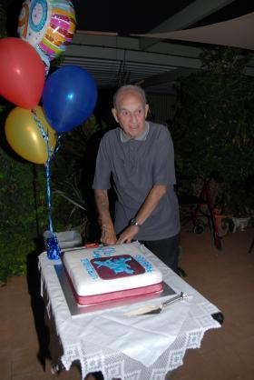 John Murray celebrates his 90th Birthday, 2012.