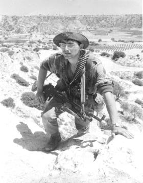 Eran 'Nick' Bauer in Cyprus