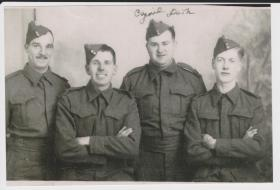 Cyril Dark with colleagues, 1940-1943.