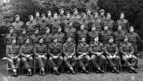 D Troop, 1st Airborne Reconnaissance Squadron, Ruskington, Lincolnshire. 17 July 1944.