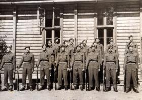 591 (Antrim) Parachute Squadron RE, Norway c1945.