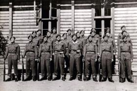 591 (Antrim) Parachute Squadron Royal Engineers, Norway c1945.