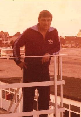 WOII 'Stovey' Cornwall during his Parachute Regiment Display Team days