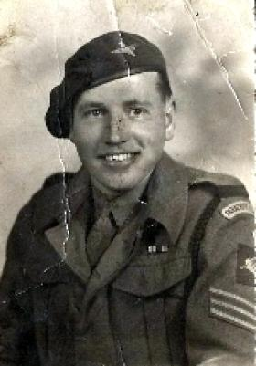 Sergeant Stanley Braddock, c1944.