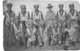 Men of 15th (Kings) Parachute Battalion at Rawalpindi Depot, India, c.1945