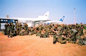 Dakar Airfield, Senegal, West Africa, May 2000.