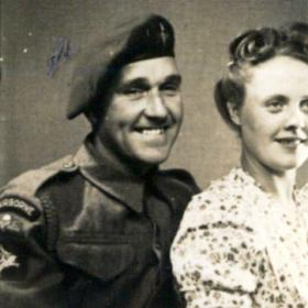 Alfred and Anna Dann c1944
