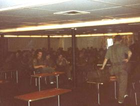 CO's Briefing, MV Norland, 1982